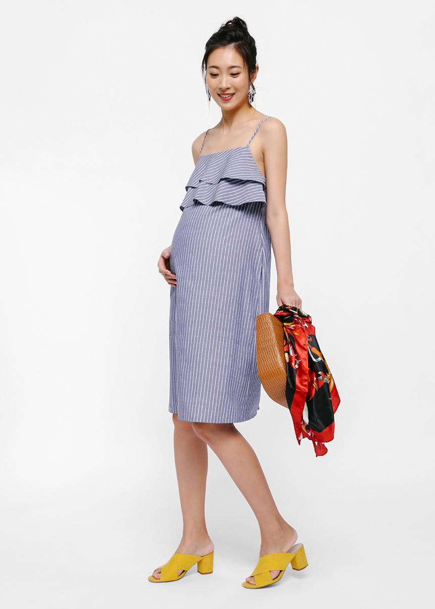 Dega Tier Camisole Dress