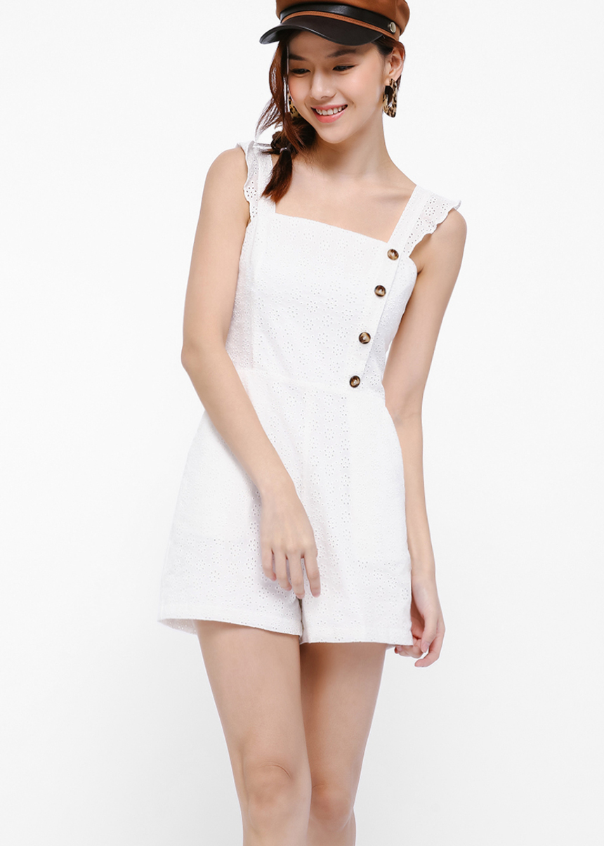 Stremon Button Down Playsuit