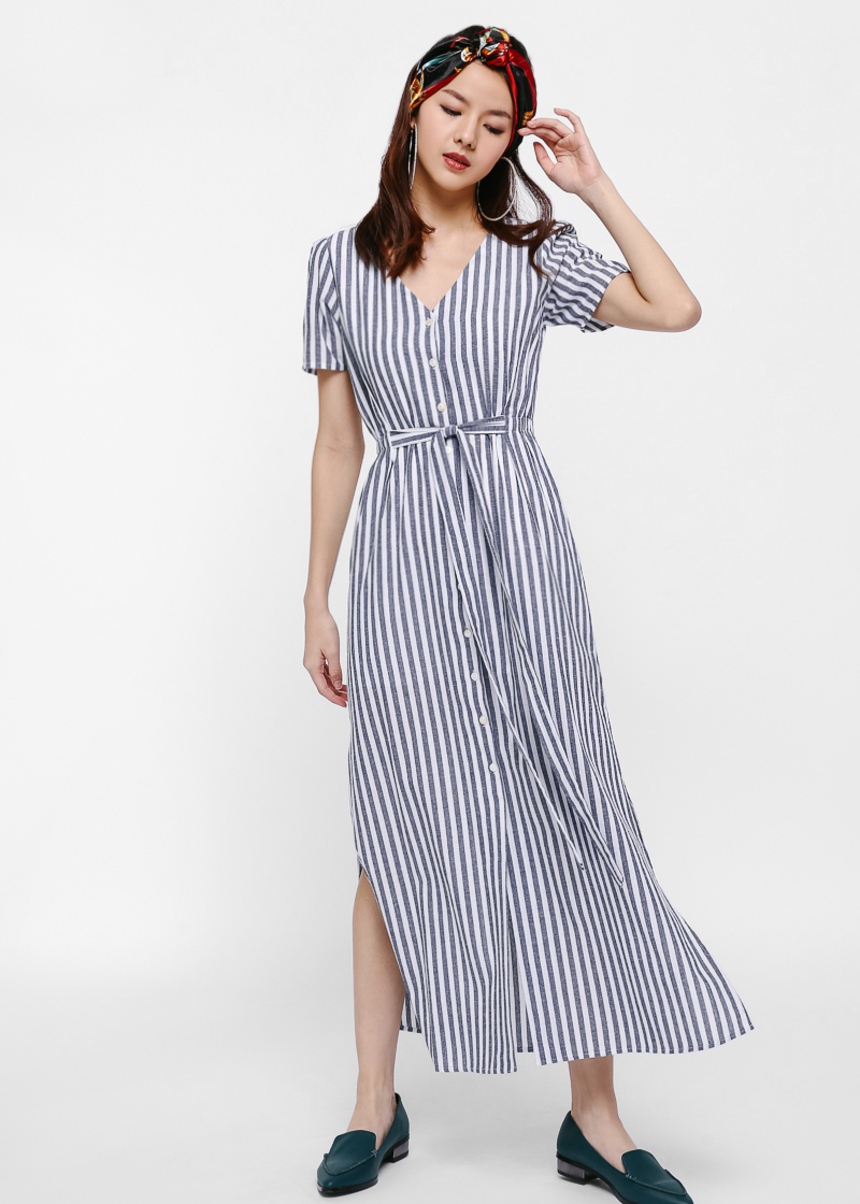 Fey Sash Maxi Dress