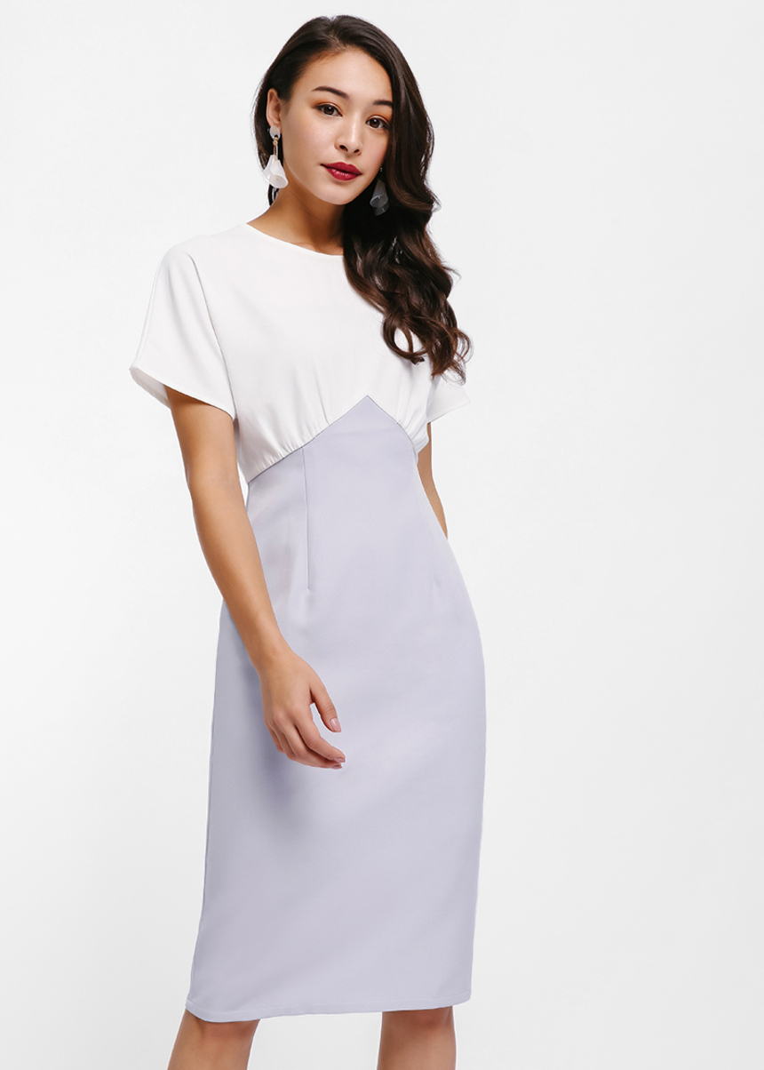 Melitta Colourblock Pencil Dress