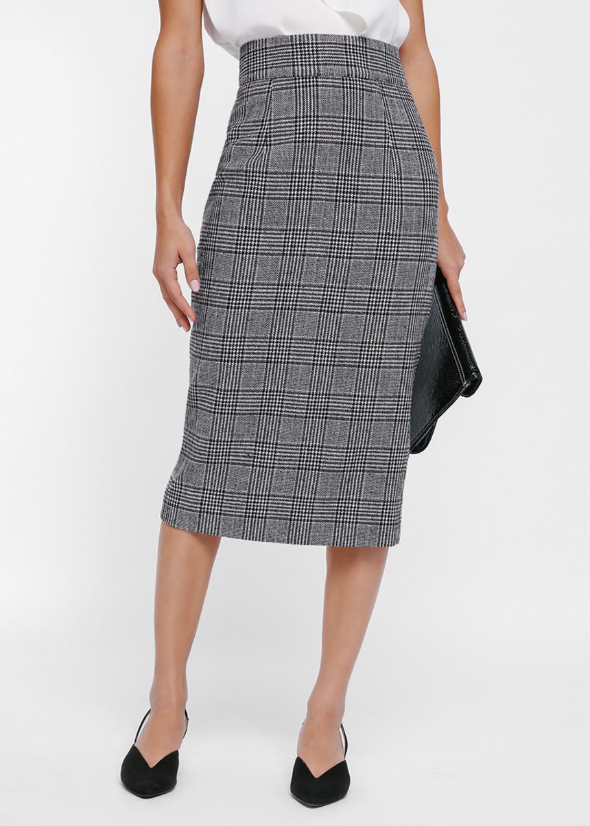 Talbot Tweed Pencil Skirt
