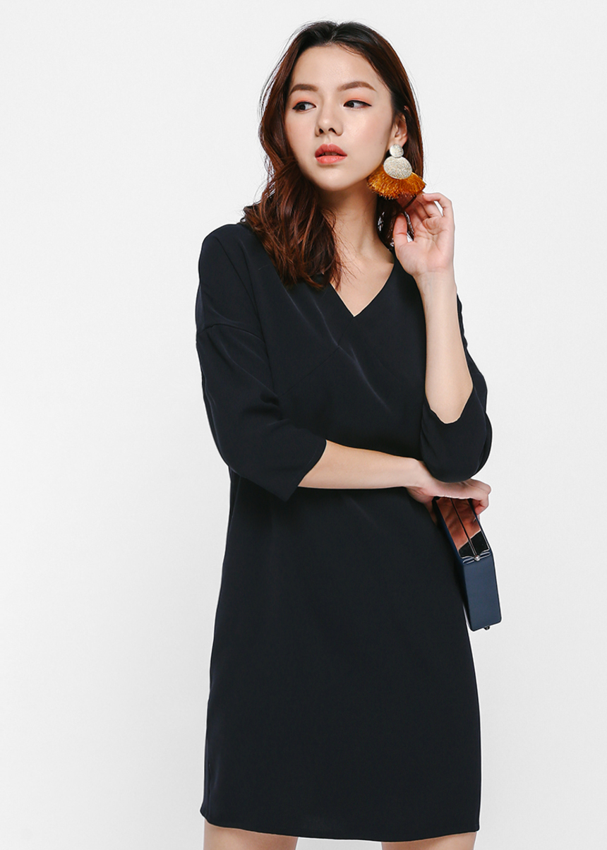 Kailey Drop Shoulder Relaxed Dress