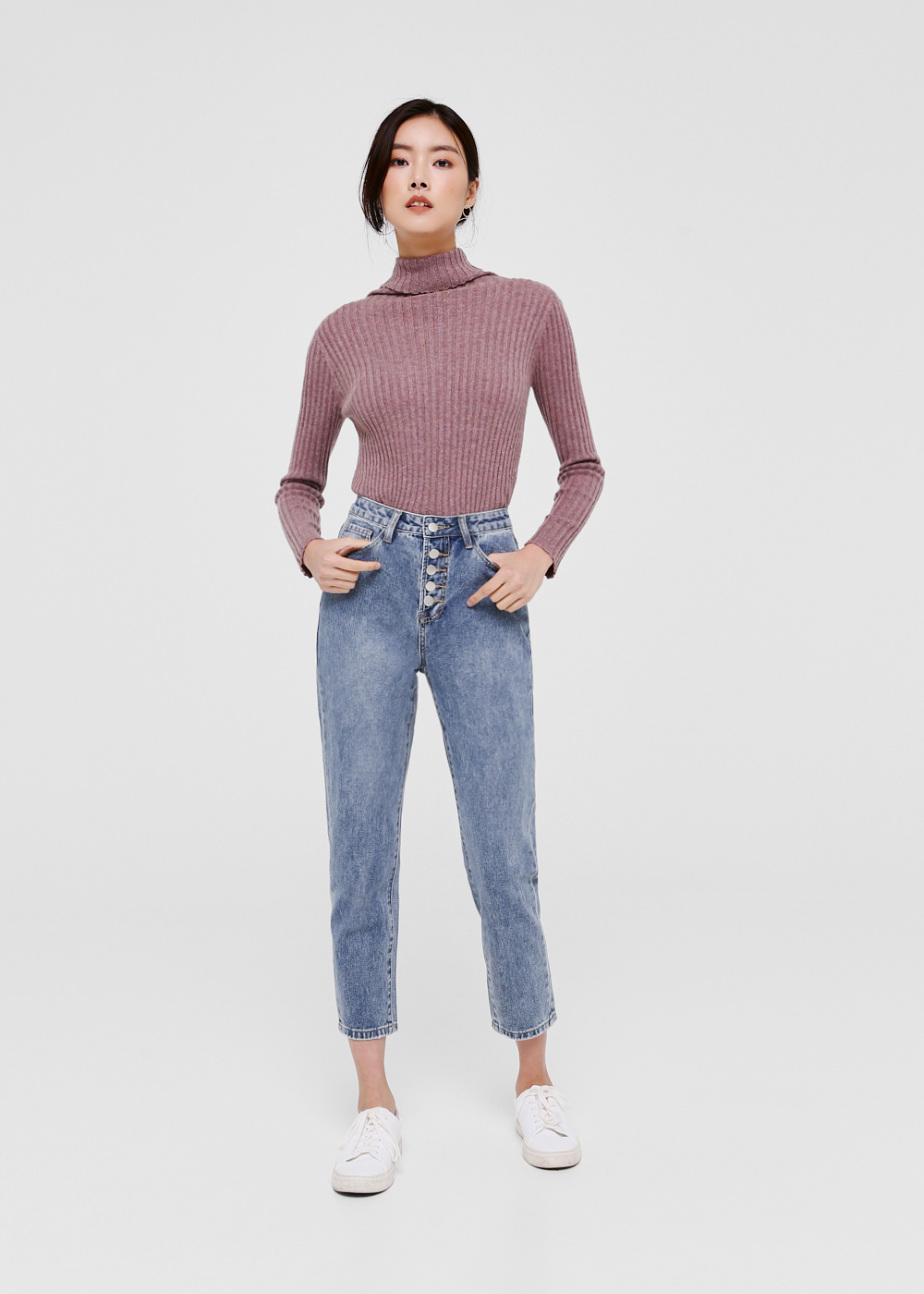 Jackie Slim Fit Mom Jeans