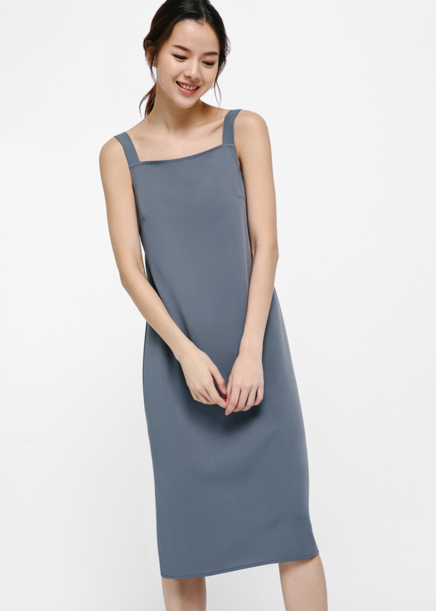 Crystal Relaxed Fit Midi Dress