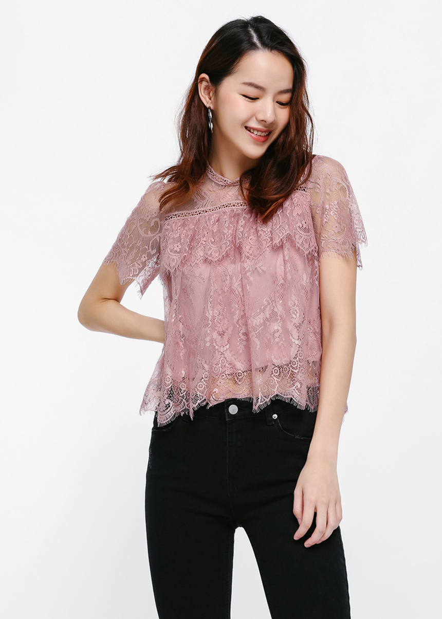 Vikita Lace Top