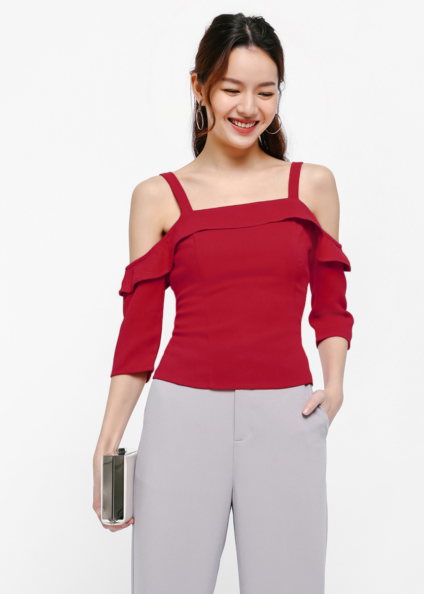 Tiffenat Off Shoulder Top