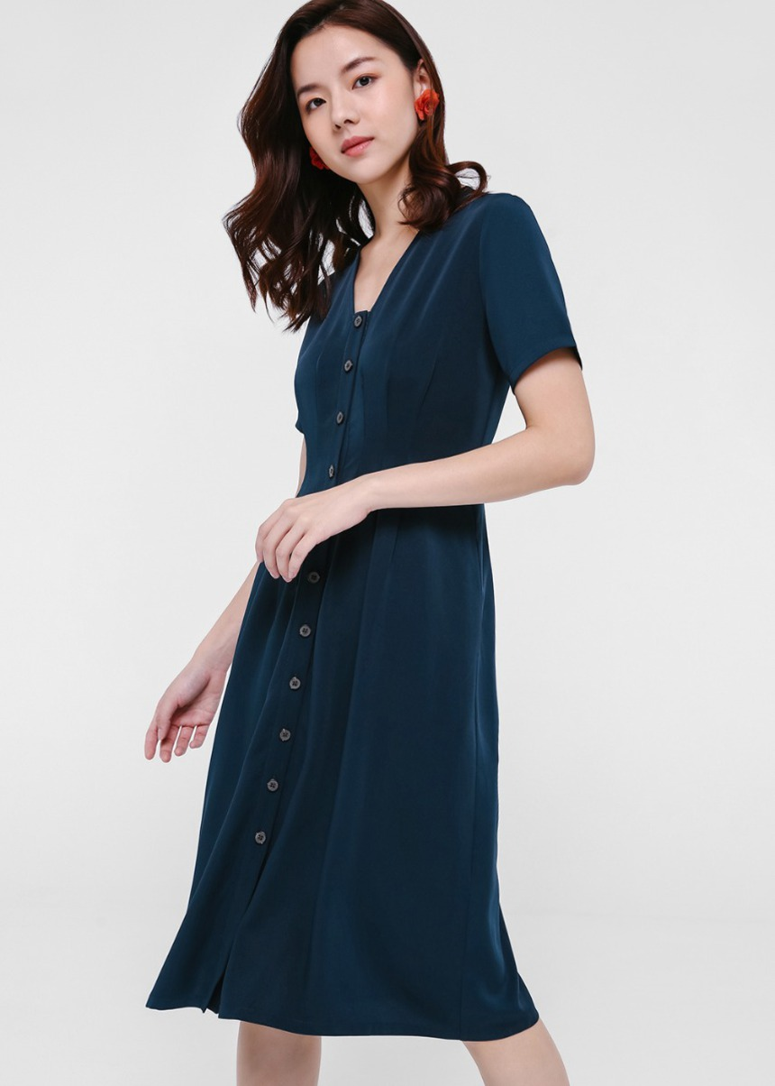 Yovela Button Down Dress