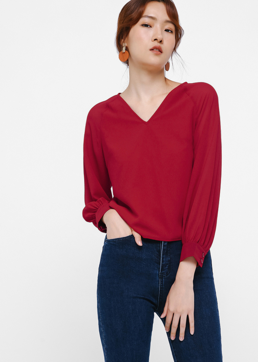 Ignacia Puff Sleeve Top