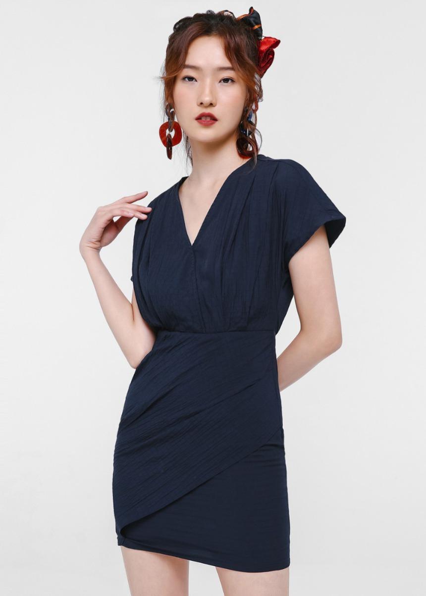 Edelmira Textured Mini Dress
