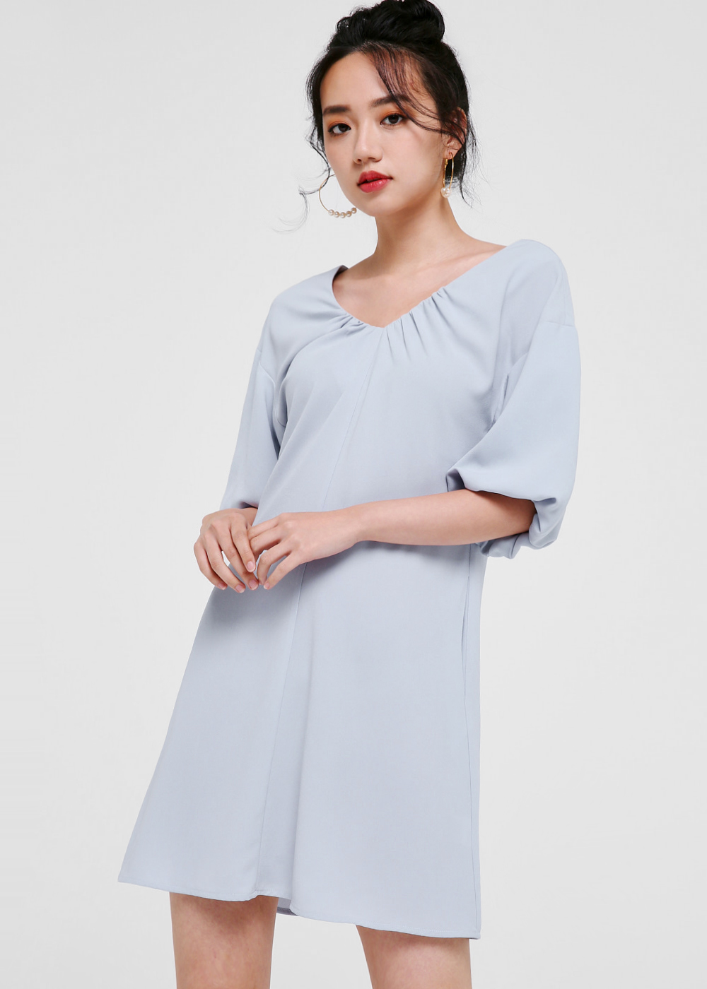 Sequoia Balloon Sleeve Dress