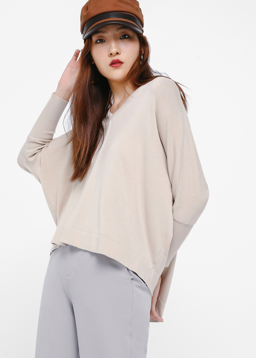 Cosette Relaxed Fit Knit Sweater
