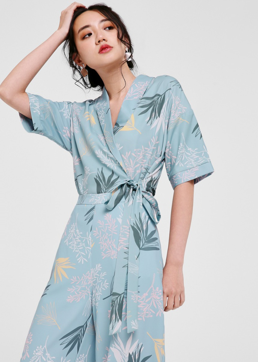 Liane Printed Relaxed Fit Blazer