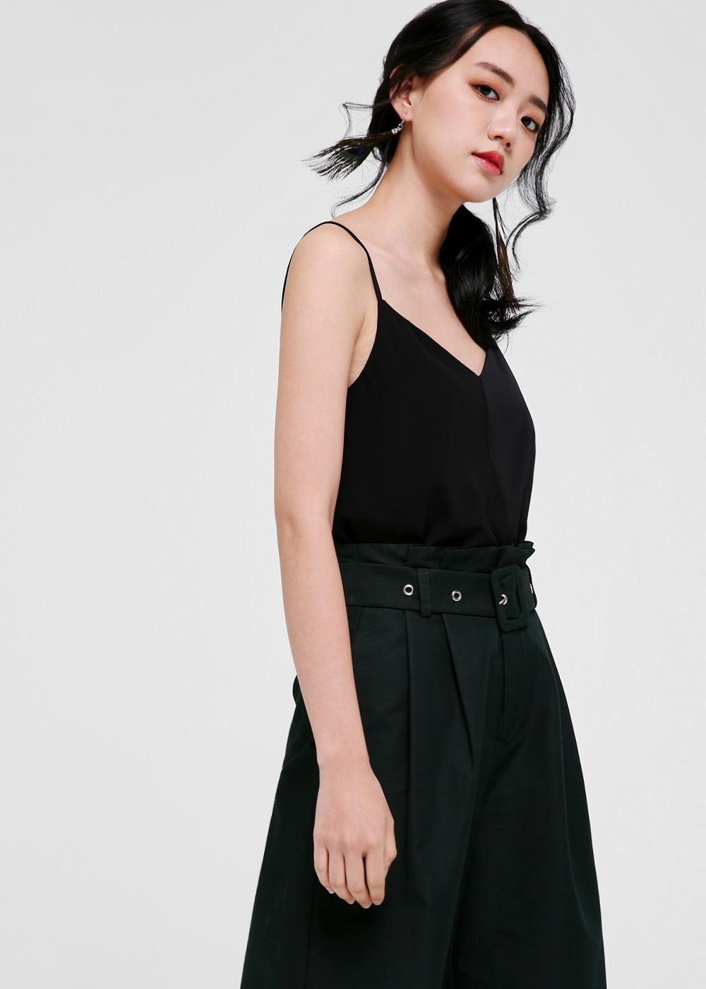 Rooney Asymmetrical Hem Camisole Top