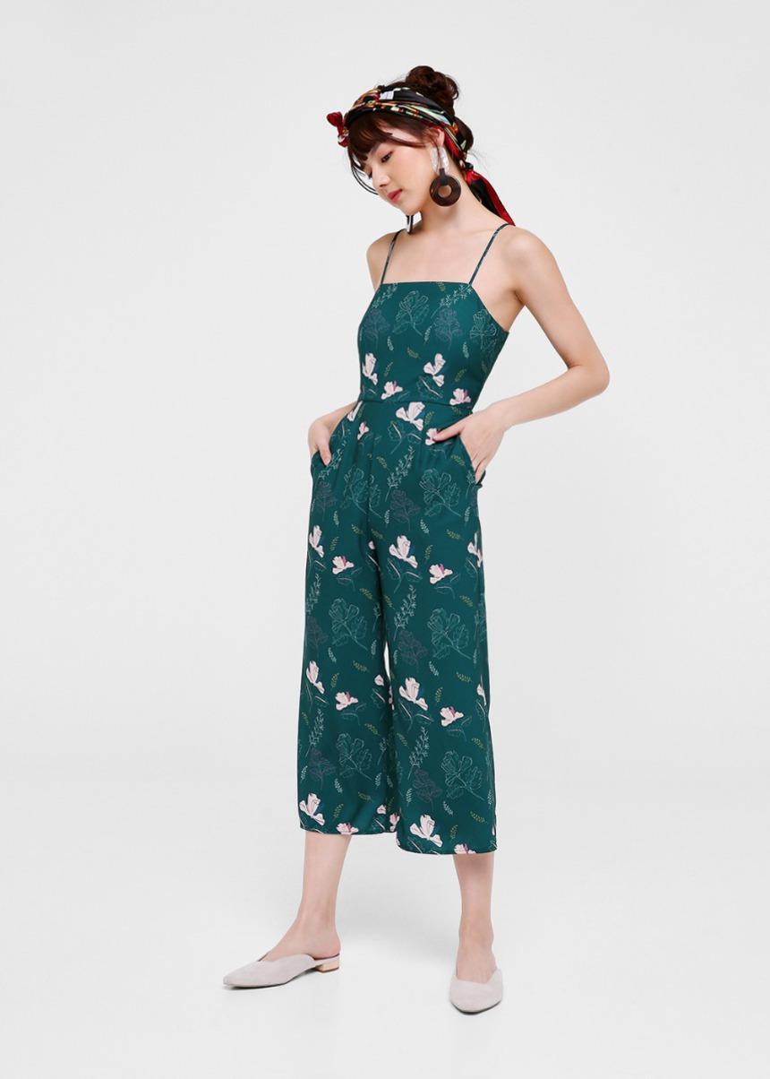 Florence Printed Midi Jumpsuit