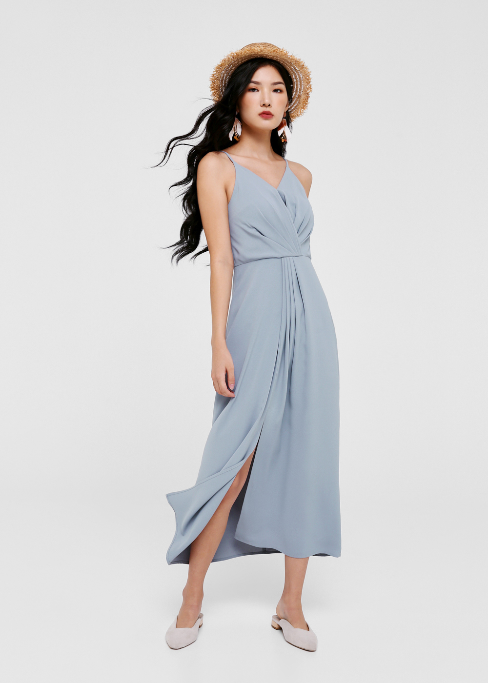 Ryesen Cross Over Maxi Dress