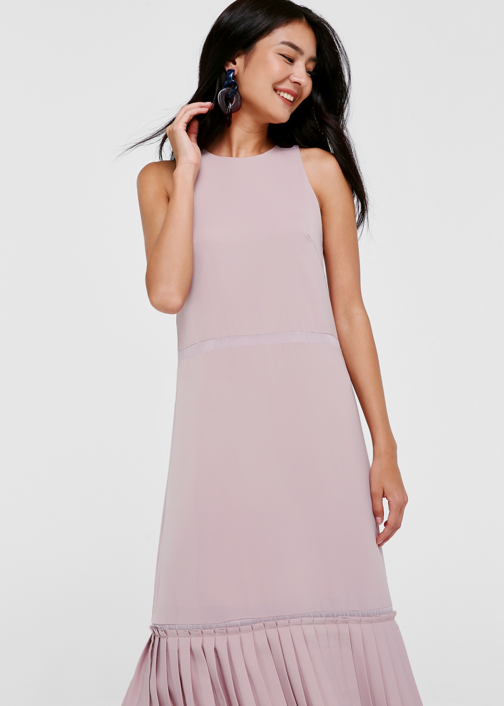 Zarya Drop Hem Maxi Dress