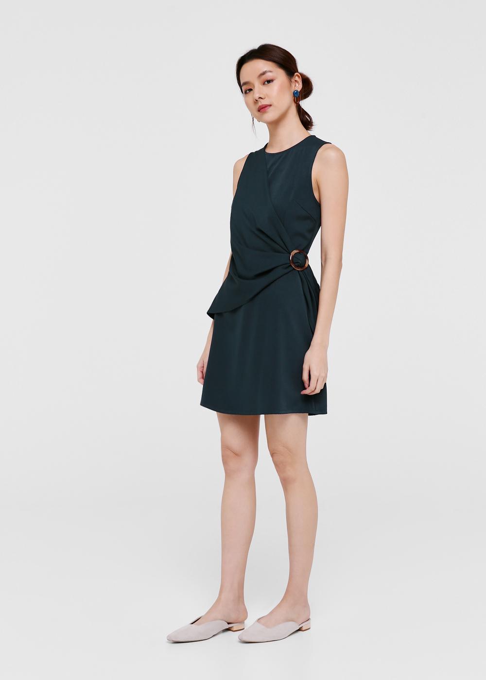 Una Belted Side Dress