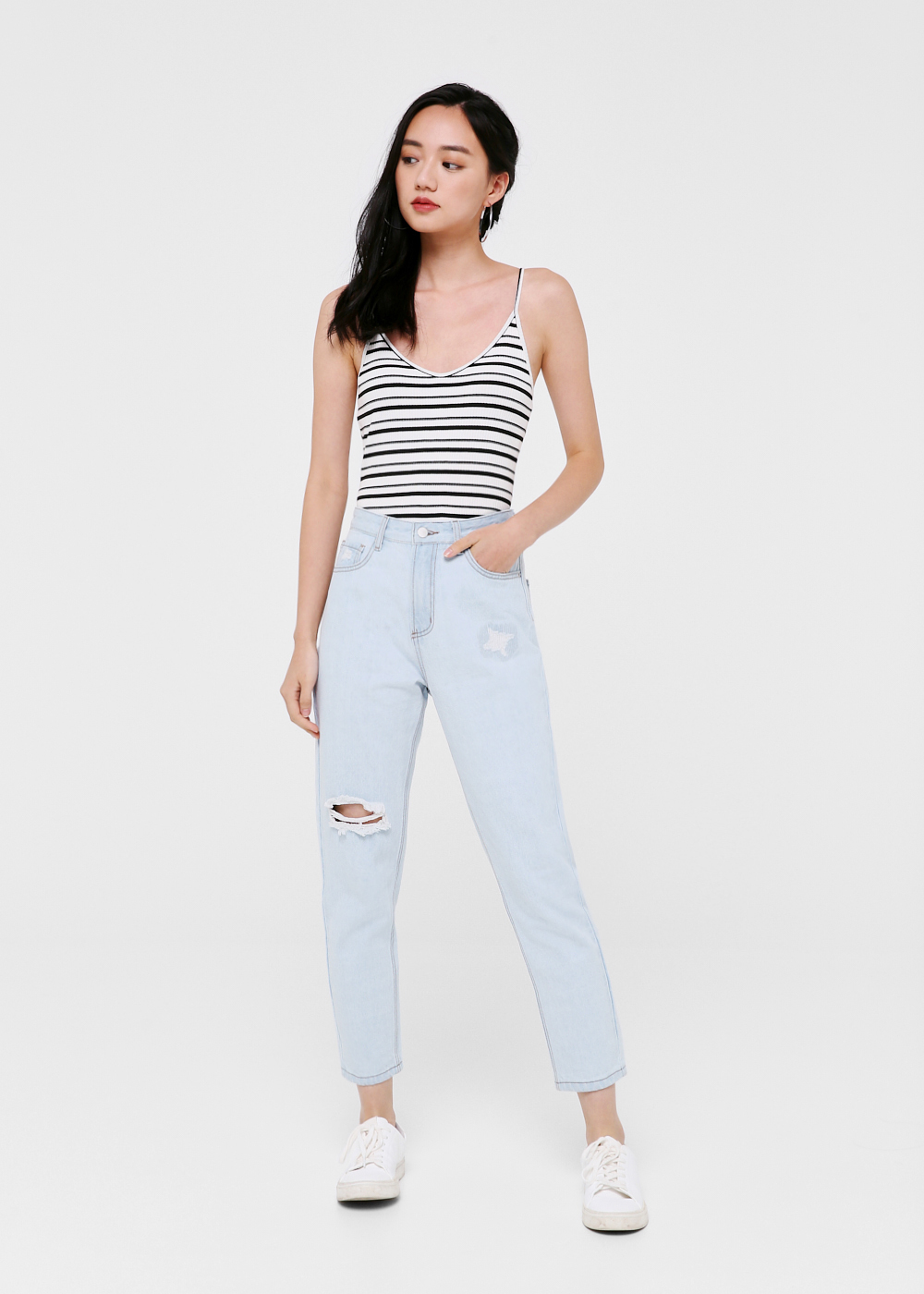 Chad Boyfriend Jeans - Light Wash