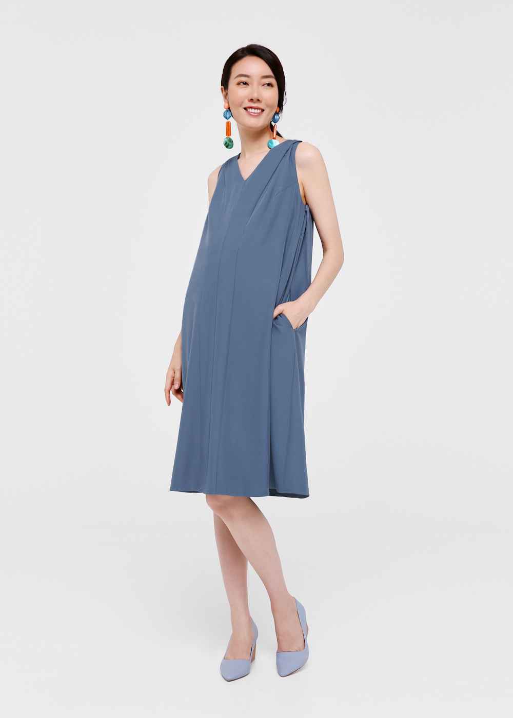 Jenna Relaxed Fit Shift Dress
