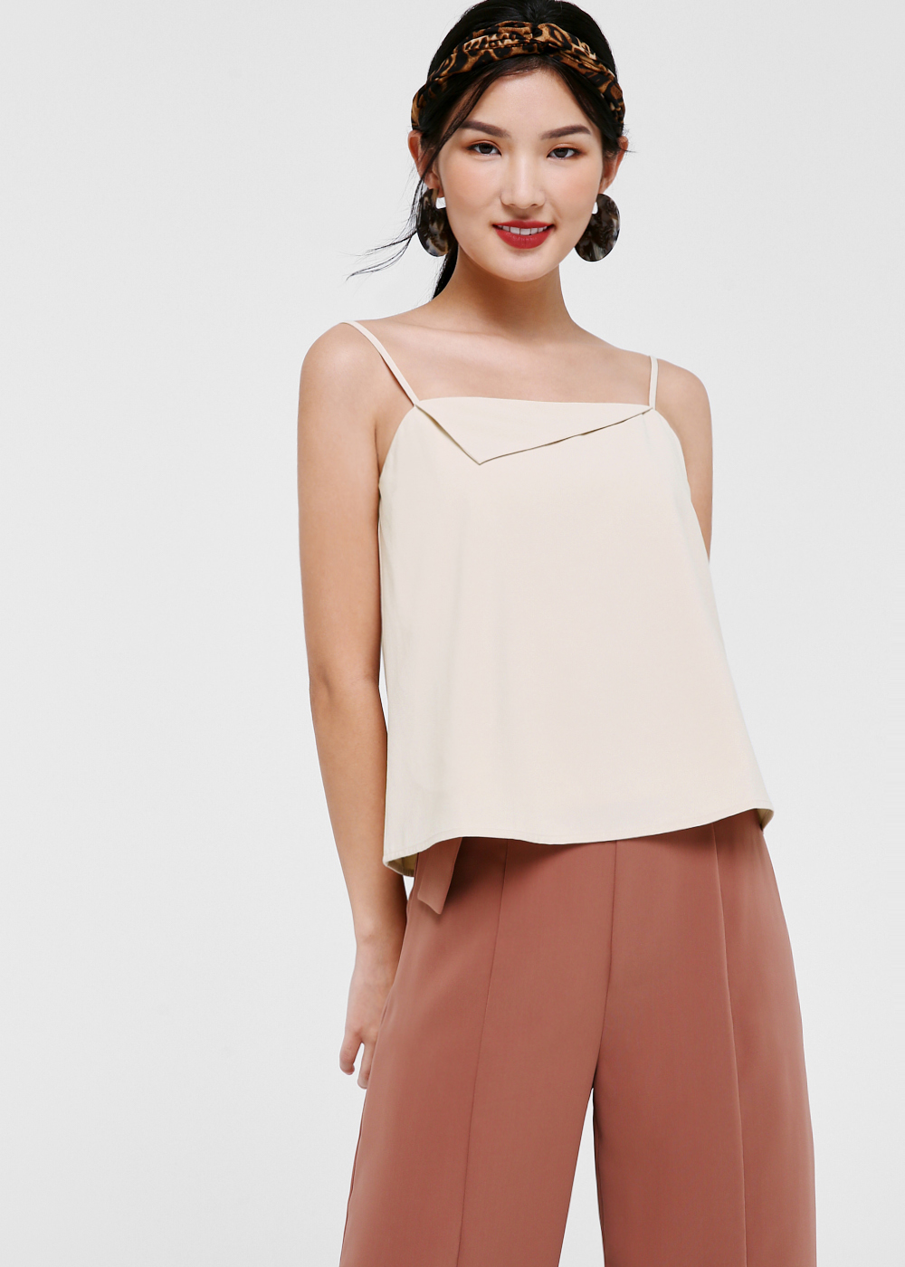 Frankie Foldover Camisole Top
