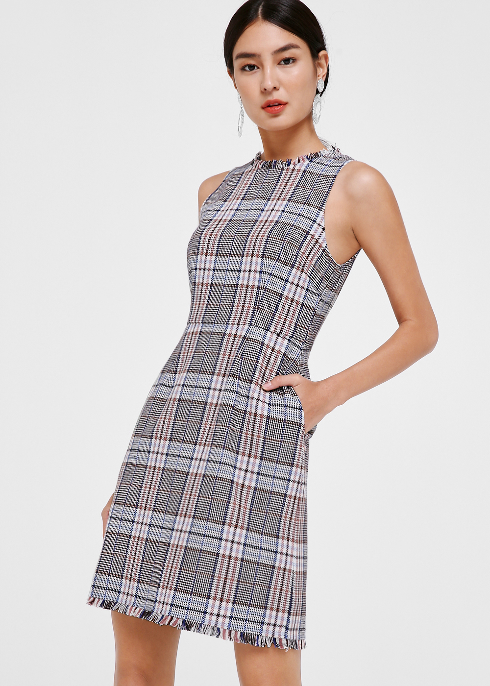 Brisa Tweed Mini Dress