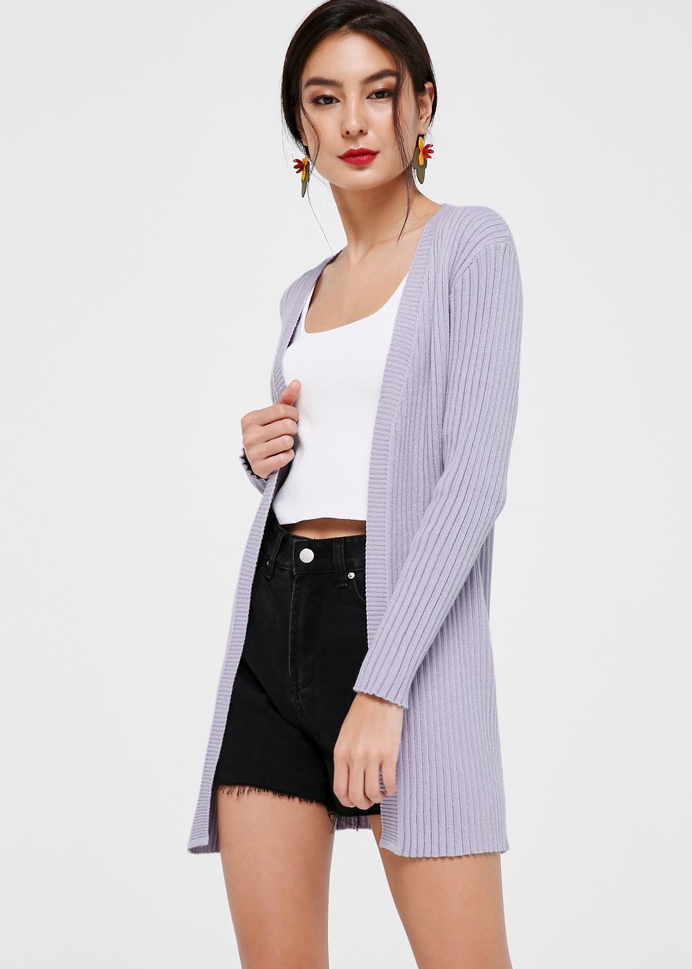 Rosalie Midi Knit Cardigan