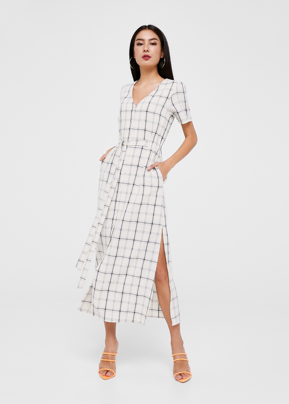 Briella Shirt Maxi Dress