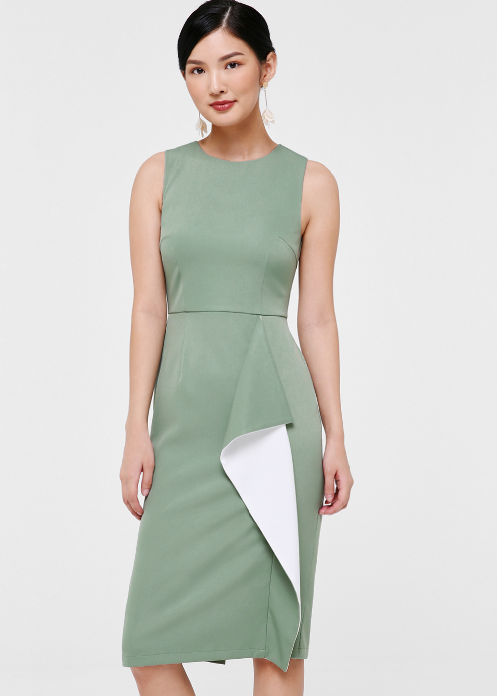 Suri Cascade Pencil Dress