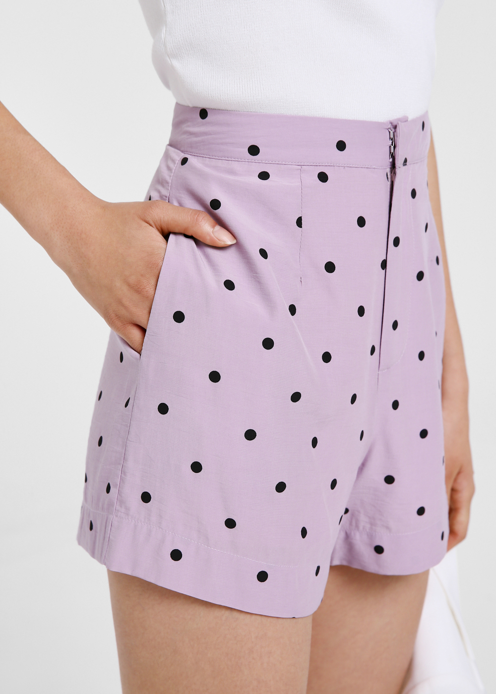 Demelza Polka Dot Tailored Shorts