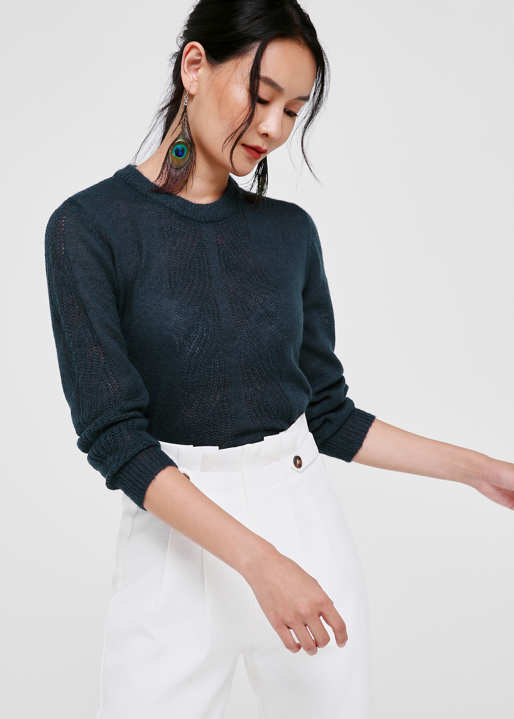 Raven Knit Sweater