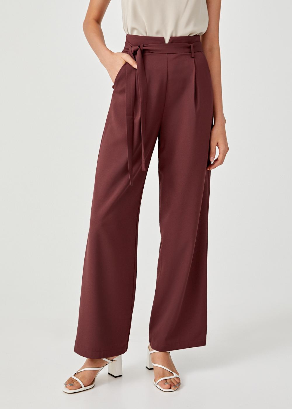 Ambrosia Sash Tie Pants