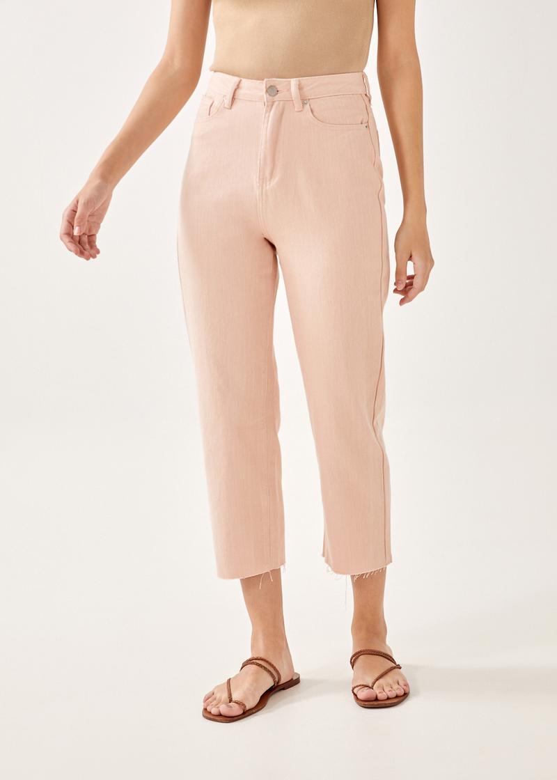 Aurelie High-rise Straight Crop Jeans