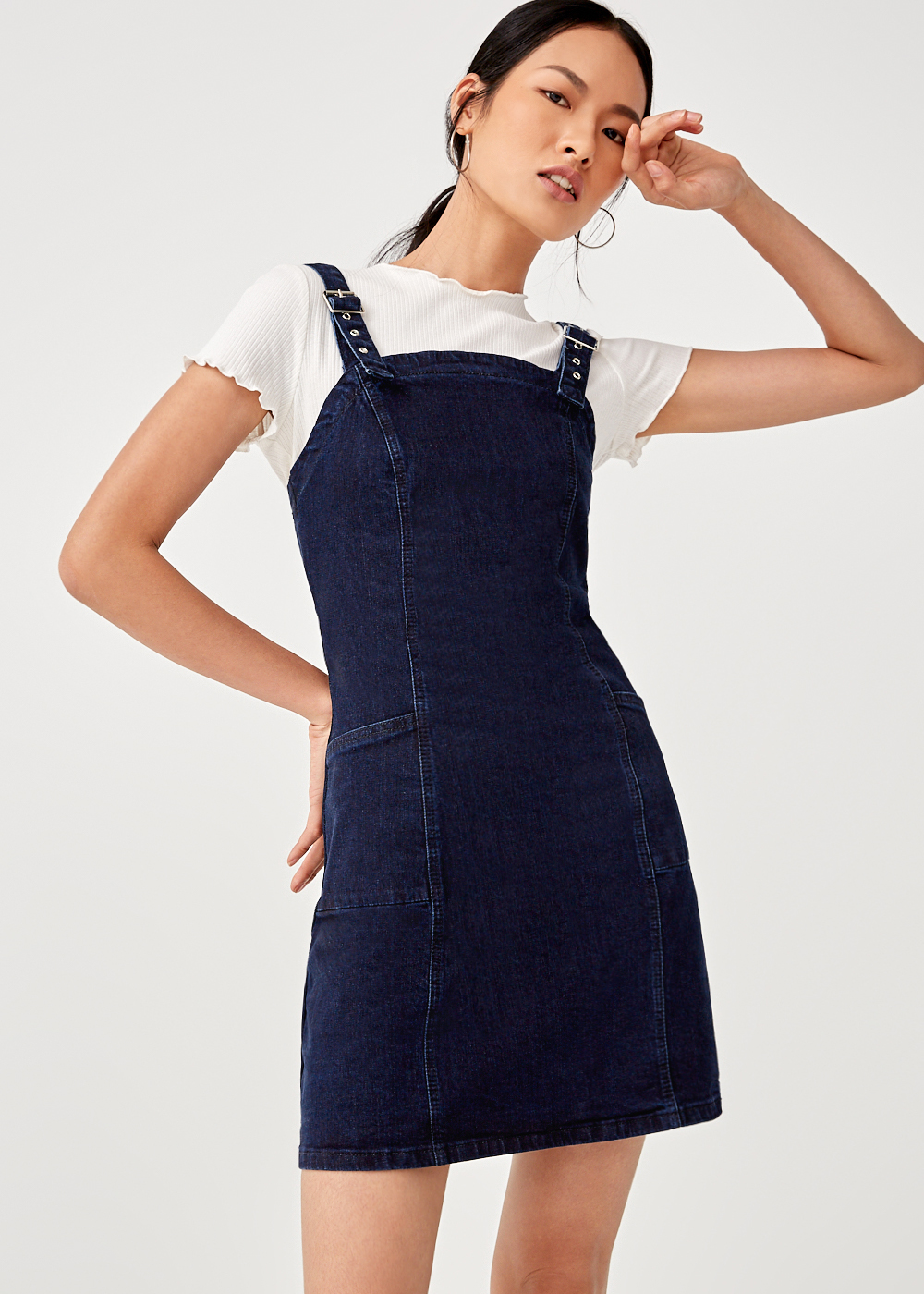 Suki Denim Buckle Dress