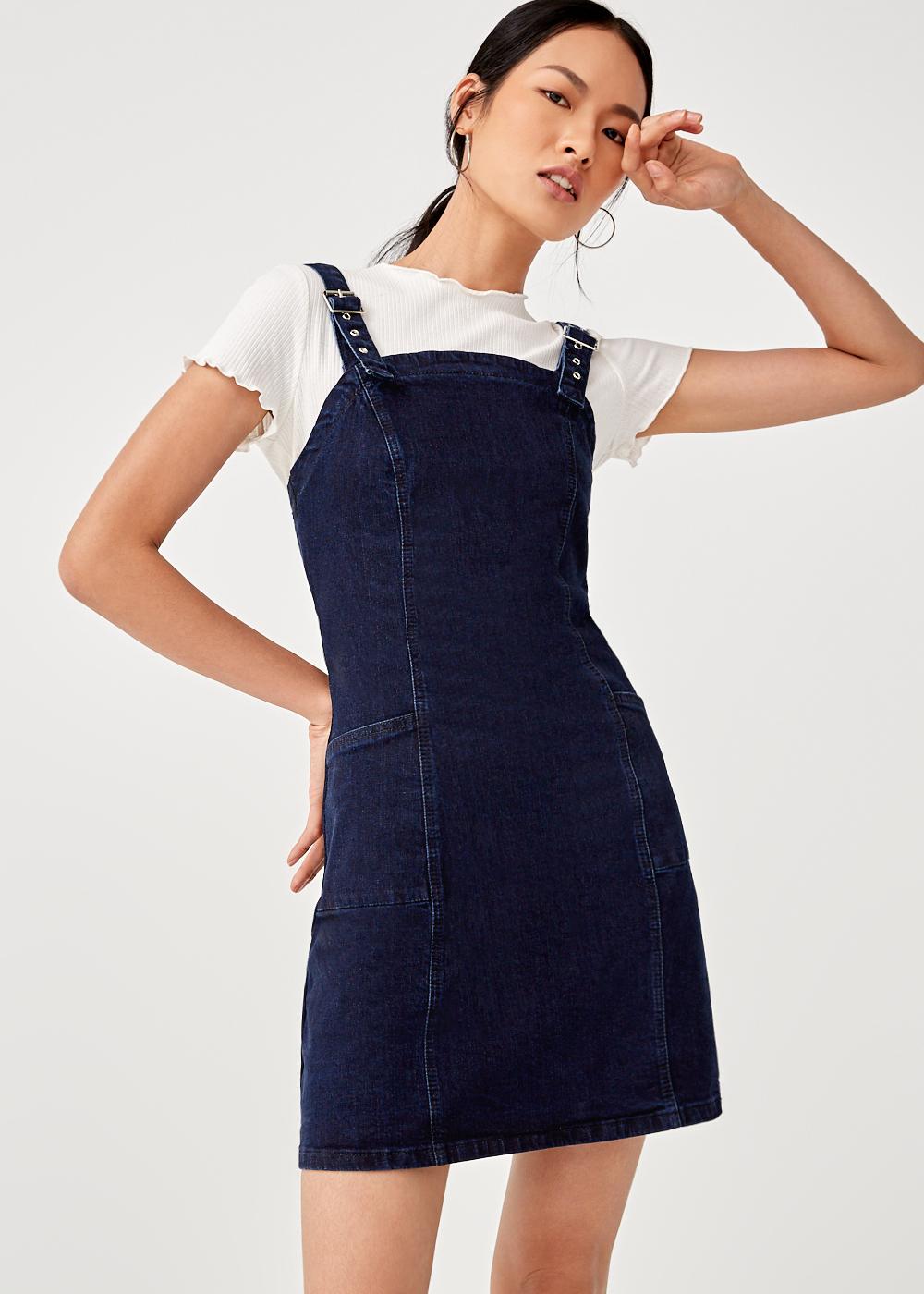 Suki Denim Buckle Dress