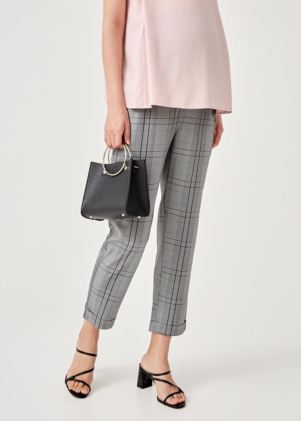 Iyana Elastic Waist Peg Pants