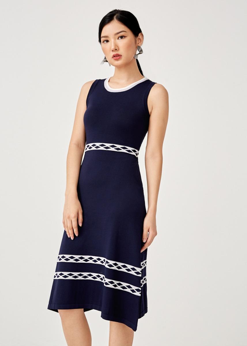 Ebba Knit Midi Dress