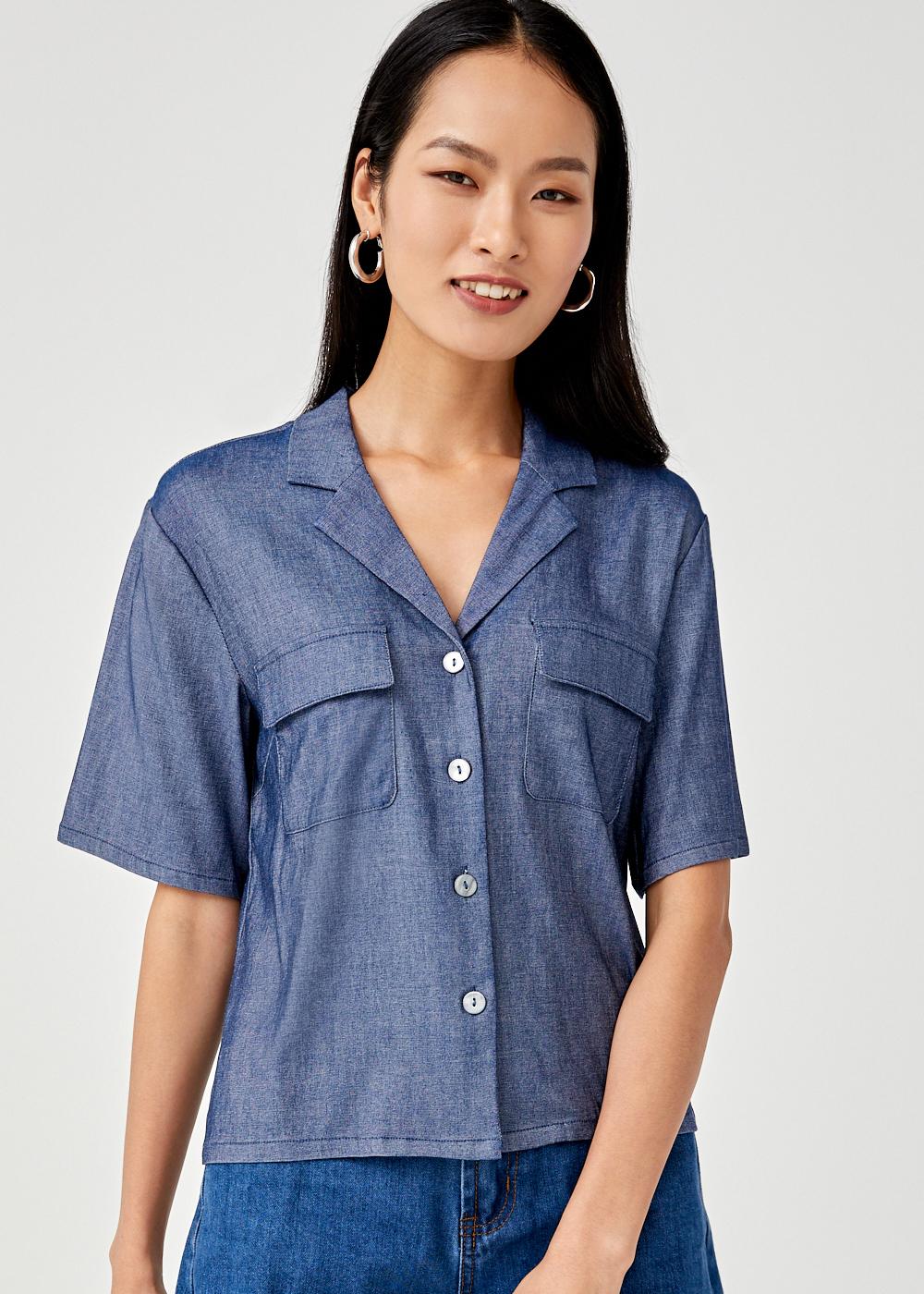 Casey Revere Collar Shirt