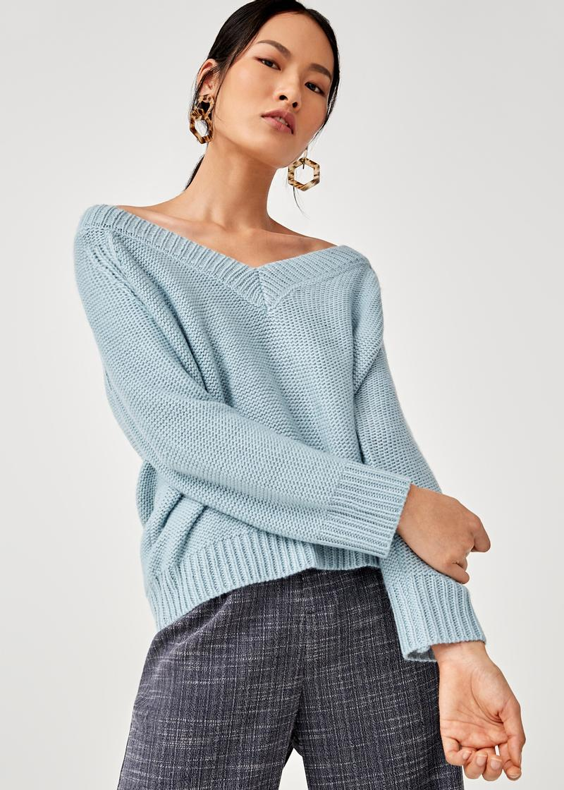 Mya Relaxed Fit Knit Sweater