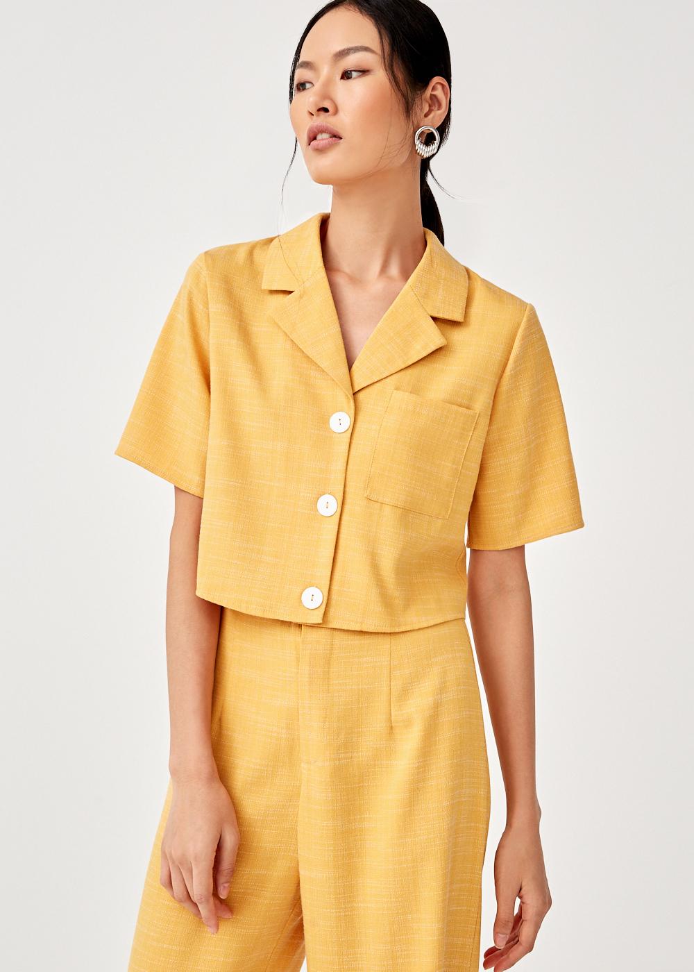 Caressa Revere Collar Shirt
