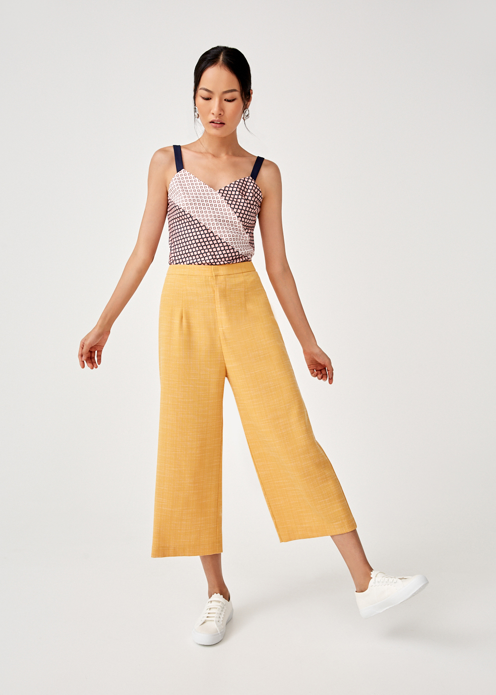 Caressa Wide Leg Culottes