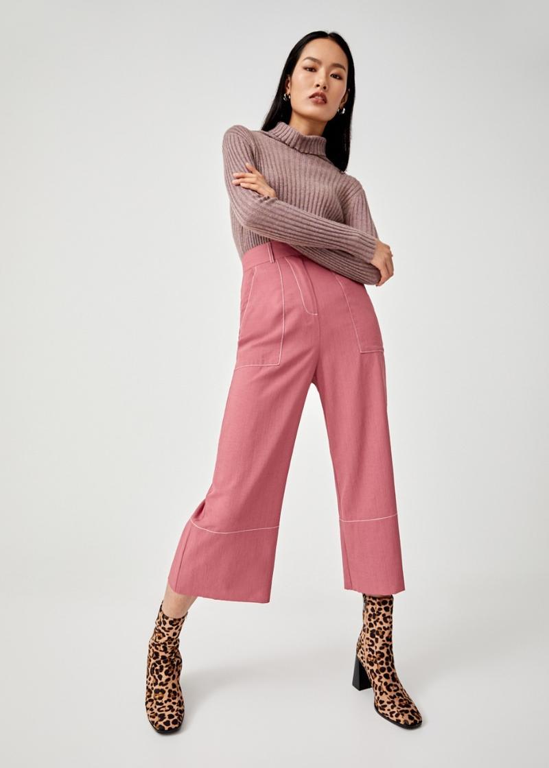 Sara Belted Wide Leg Culottes