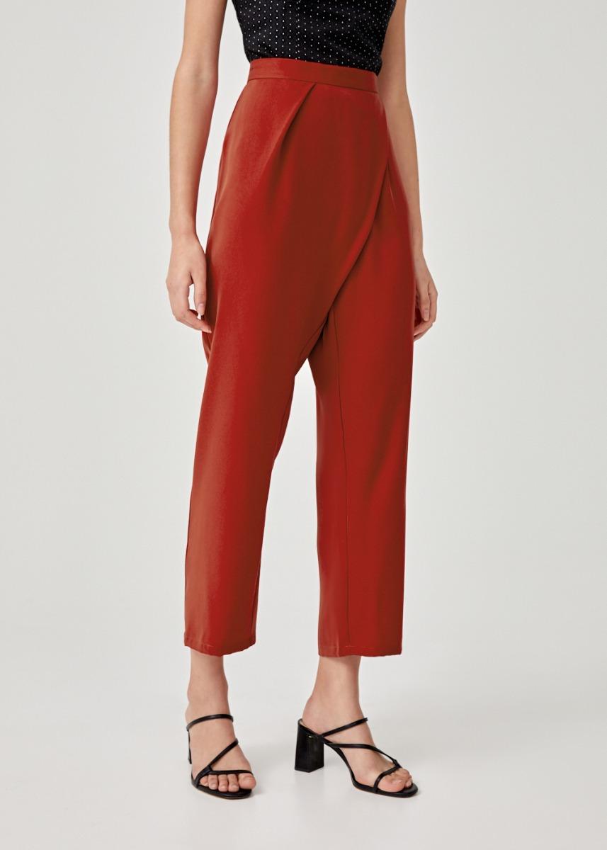 Trinette Foldover Peg Leg Pants