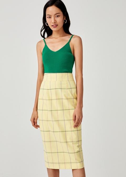 Vera Midi Pencil Skirt