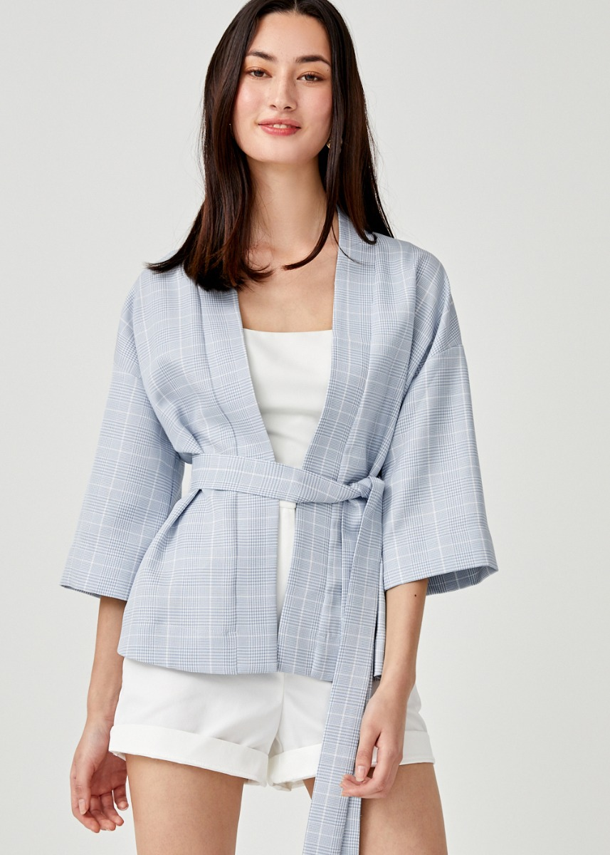Cathline Sash Tie Relaxed Fit Outerwear
