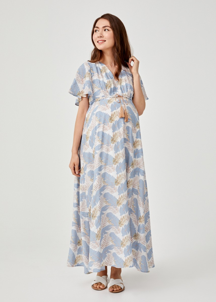 Austyn Tassel Tie Maxi Dress