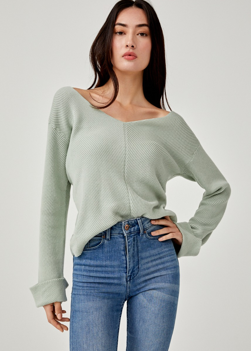 Giana Relaxed Fit Knit Sweater