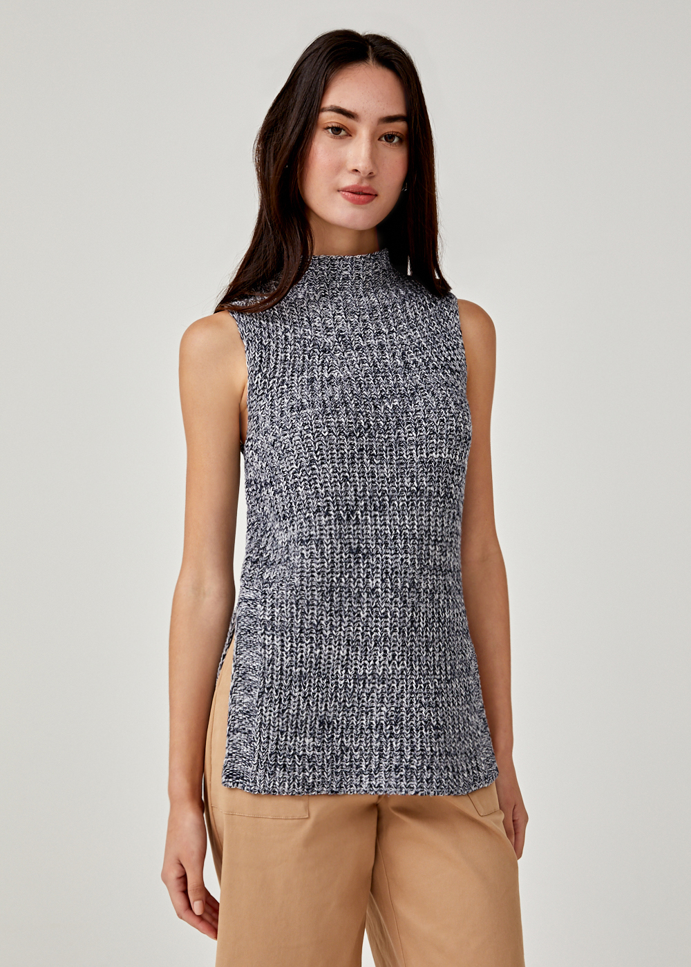 Beryl Sleeveless Knit Sweater