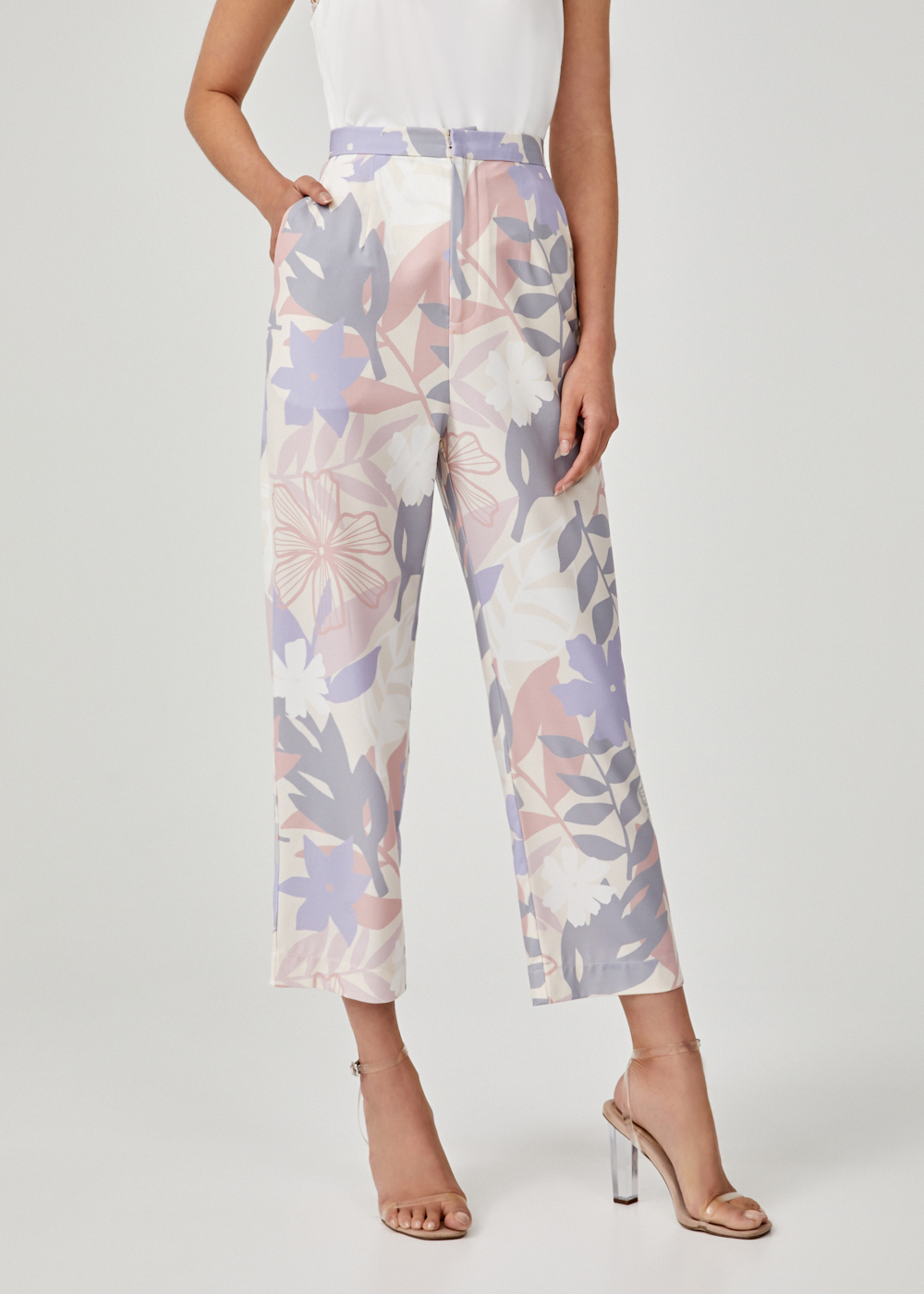 Aileena Peg Leg Pants in Tropicana Dream