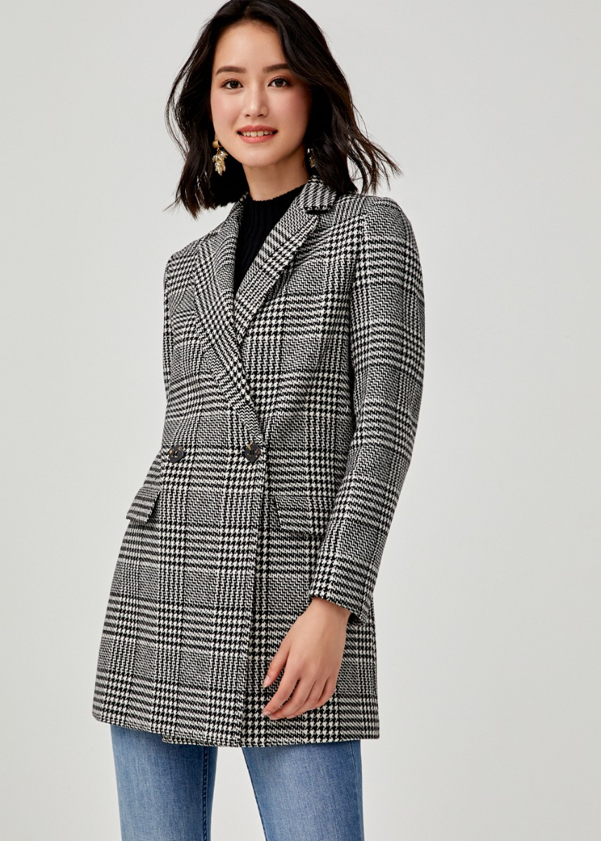 Aurianna Plaid Coat
