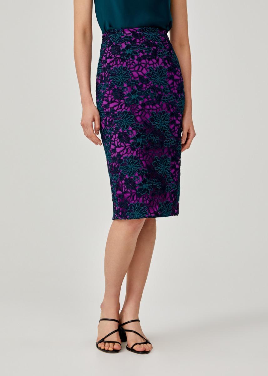 Lilika Lace Midi Skirt